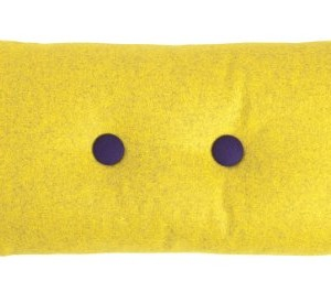 HAY-Kissen-Dot-Cushion-Divina-Melange-2x2-yellow-421-gelb-100-Schurwolle-0