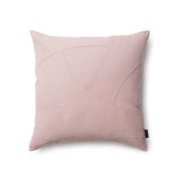 by Lassen - Flow Kissen 50 x 50 cm, rosa