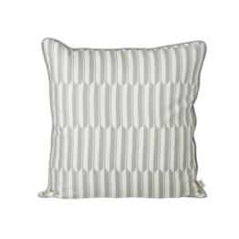 ferm Living - Arch Kissen 50 x 50 cm, grau / off-white