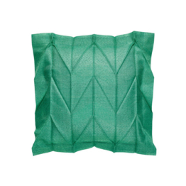 Iittala X Issey Miyake - Kissenbezug 35 x 35 cm herringbone, smaragdgrün