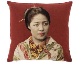 Kissen Geisha