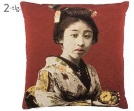 Kissen-Set Geisha, 2-tlg.
