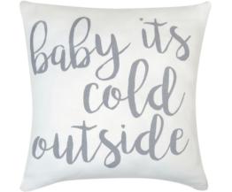 Kissenhülle Cold Outside