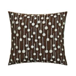 Kvadrat - Square Cushion, Pop Rain, braun (limited edition)