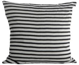 Leinen-Kissenhülle Stripe