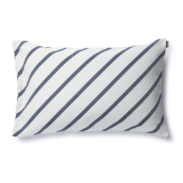 Marimekko - Mint Kissenbezug 40 x 60 cm, grauweiß / dunkelblau