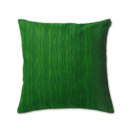 Marimekko - Varvunraita Kissenbezug 50 x 50 cm, dunkelgrün / grün