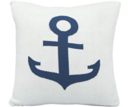 Strick-Kissenhülle Anchor