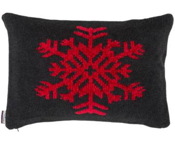 strick kissenh lle snowflake kissenjunkie. Black Bedroom Furniture Sets. Home Design Ideas