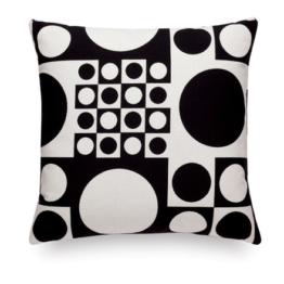 Vitra - Classic Kissen Maharam: Geometri black / white