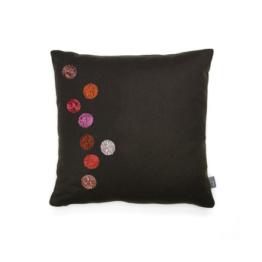 Vitra - Dot Kissen 40 x 40 cm, braun