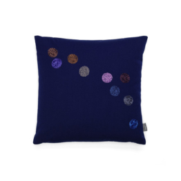 Vitra - Dot Kissen 40 x 40 cm, tintenblau