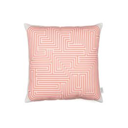 Vitra - Graphic Print Pillow - Maze 40 x 40 cm, pink