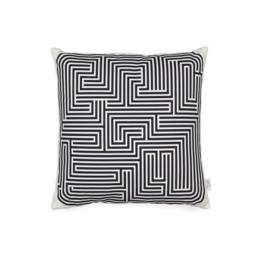 Vitra - Graphic Print Pillow - Maze 40 x 40 cm, schwarz