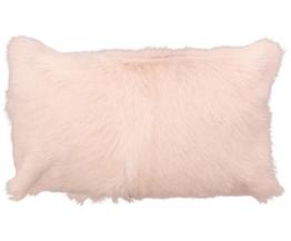 Ziegenfell-Kissenhülle Mimi