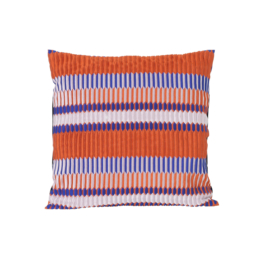 ferm Living - Salon Kissen Pleat 40 x 40 cm, rust