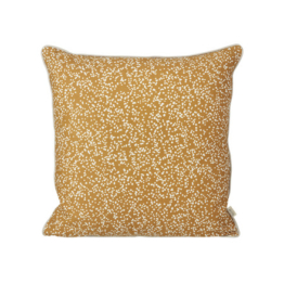 ferm Living - Dottery Kissen 50 x 50 cm, curry