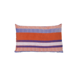 ferm Living - Salon Kissen Pleat 40 x 25 cm, rust